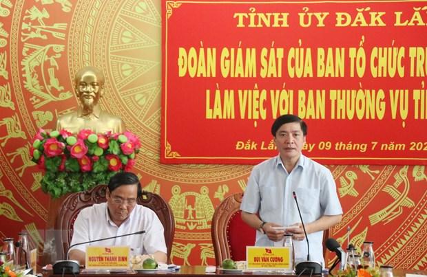 Du thao Bao cao chinh tri phai sat voi tinh hinh thuc tien dia phuong hinh anh 1