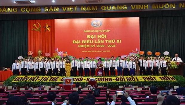 Ong Phan Chi Hieu tai dac cu Bi thu Dang uy Dang bo Bo Tu phap hinh anh 2