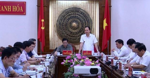 Ong Pham Minh Chinh bieu duong Thanh Hoa to chuc tot Dai hoi cac cap hinh anh 1
