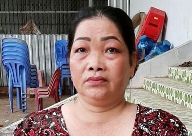An Giang: Bat giu mot phu nu van chuyen 4kg can sa qua bien gioi hinh anh 1