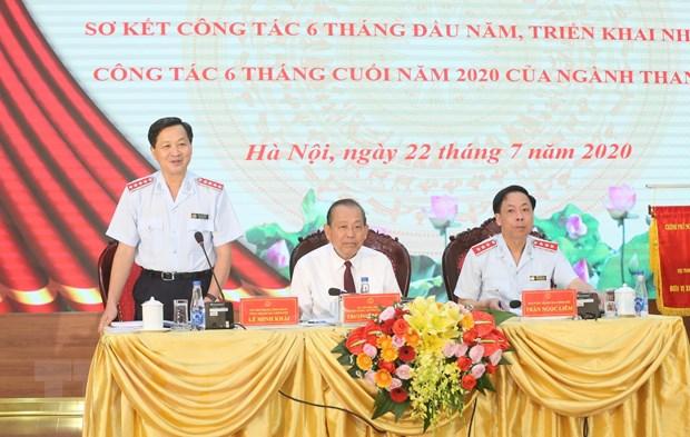 PTT Truong Hoa Binh: Kien quyet loai khoi bo may can bo tham nhung hinh anh 1