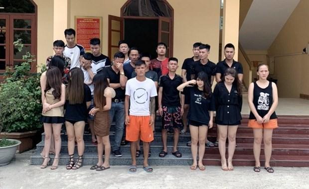 Quang Ninh kiem tra phong, chong dich, bat giu doi tuong dung ma tuy hinh anh 1
