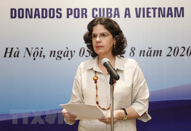Viet Nam tiep nhan thuoc phong, chong dich COVID-19 do Cuba tai tro hinh anh 1