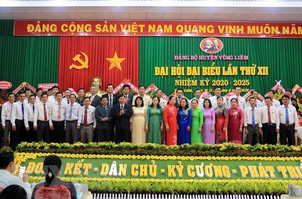 Tinh Vinh Long hoan thanh dai hoi dang bo cap tren co so hinh anh 1