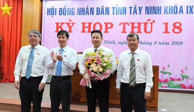 Ong Nguyen Thanh Ngoc duoc bau giu chuc Chu tich UBND tinh Tay Ninh hinh anh 1