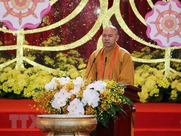 Giao hoi Phat giao Viet Nam yeu cau khao sat viec gui tro cot o chua hinh anh 1