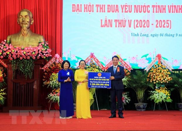 Dai hoi Thi dua yeu nuoc tinh Vinh Long: Nang cao nang luc canh tranh hinh anh 1