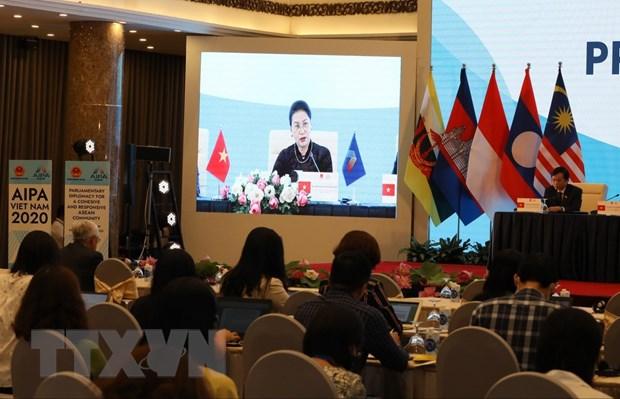 Dai hoi dong Lien nghi vien ASEAN lan thu 41 thanh cong tot dep hinh anh 1