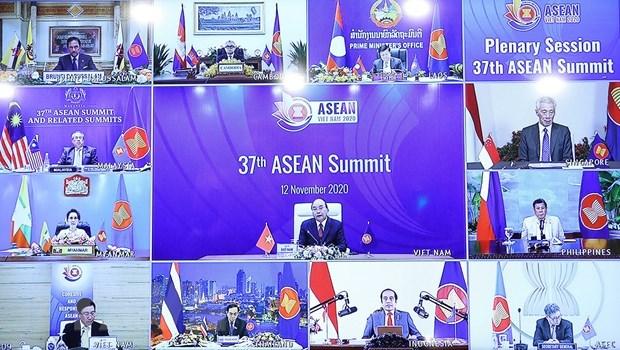 Tuyen bo Chu tich Cap cao ASEAN lan 37: Gan ket va chu dong thich ung hinh anh 1