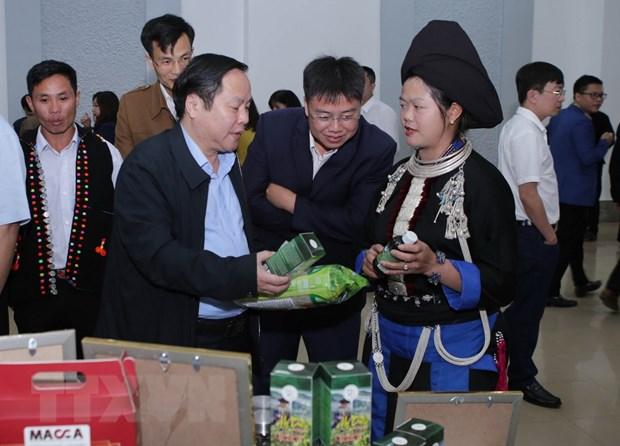 Cong bo quyet dinh cong nhan san pham OCOP tinh Lai Chau nam 2020 hinh anh 1