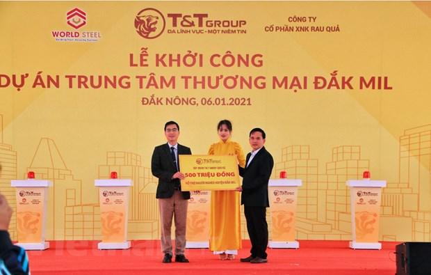 T&T Group khoi cong xay trung tam thuong mai hien dai tai Dak Nong hinh anh 3