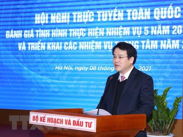 Bo truong Bo KH-DT: Nam 2021, bien thach thuc thanh co hoi phat trien hinh anh 2