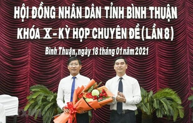 Thu tuong Chinh phu phe chuan Chu tich UBND tinh Binh Thuan hinh anh 1