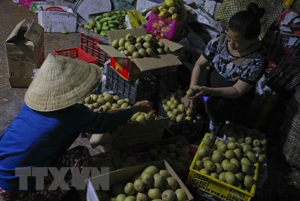 [Photo] Cho dem nong san dip giap Tet Nguyen dan tai Hau Giang hinh anh 3