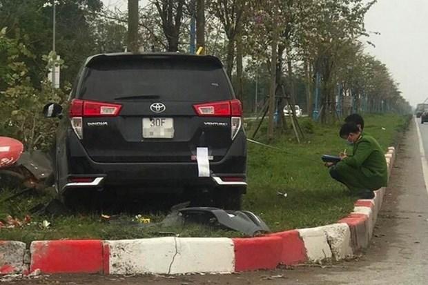 Ha Noi dieu tra 2 vu dam xe nghiem trong o Me Linh va Thanh Xuan hinh anh 1