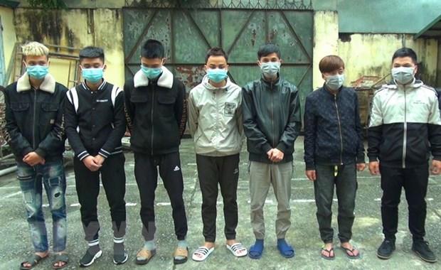 Thanh Hoa: Bat 7 doi tuong lua ban so lo, so de trung thuong hinh anh 1