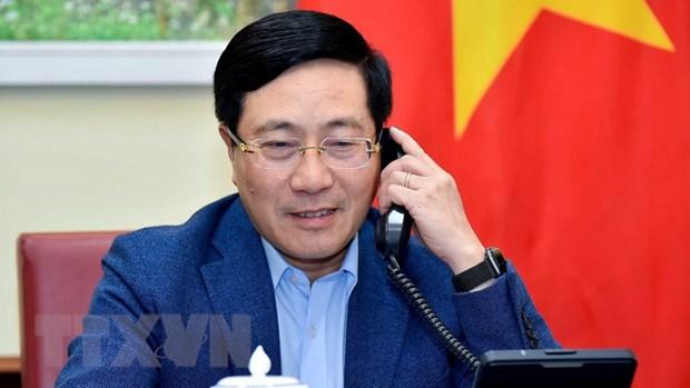 Bo Ngoai giao Viet Nam va New Zealand tang cuong thuc day hop tac hinh anh 1
