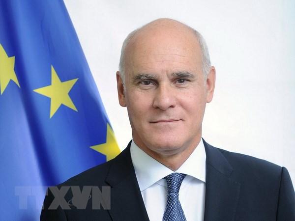 EU: Bao ve Nghi dinh thu Bac Ireland giua luc cang thang voi Anh hinh anh 1