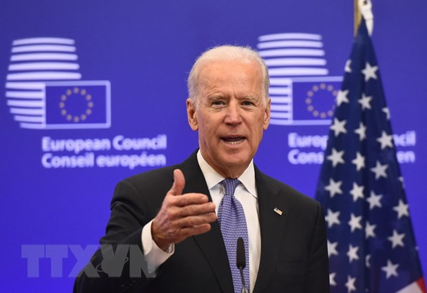 Tong thong Joe Biden nhan dinh trien vong kinh te trong nuoc kha quan hinh anh 1