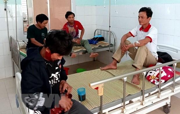 Quang Nam: Nam benh nhan ngo doc nam da dan on dinh suc khoe hinh anh 1