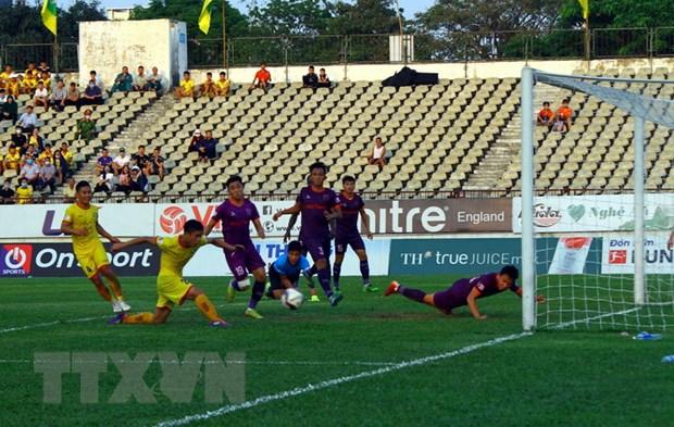 V.League 2021: Song Lam Nghe An that thu tren san nha voi ty so 0-2 hinh anh 1