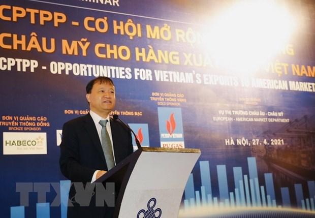 Hiep dinh CPTPP mo duong cho hang Viet Nam sang chau My hinh anh 1