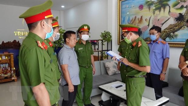 Binh Thuan: Bat tam giam giam doc Cong ty bat dong san lua dao hinh anh 1
