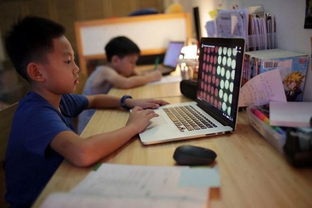 Singapore quyet dinh cho hoc sinh chuyen sang hoc truc tuyen hinh anh 1