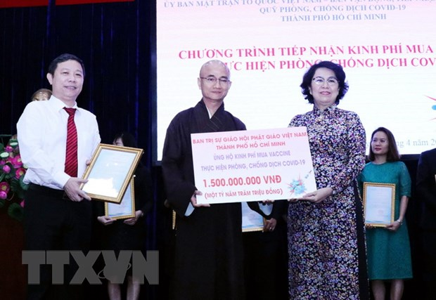 TP.HCM: Gan 2.300 ty dong dang ky ung ho mua vaccine phong, chong dich hinh anh 1