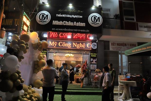 Khoi to 13 doi tuong vu au da lien quan tham my vien Minh Chau Asian hinh anh 1