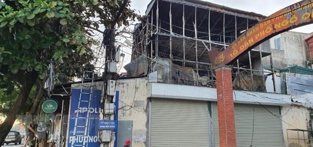 Cháy cửa hàng sắt trong đêm, thiệt hại hàng trăm triệu đồng