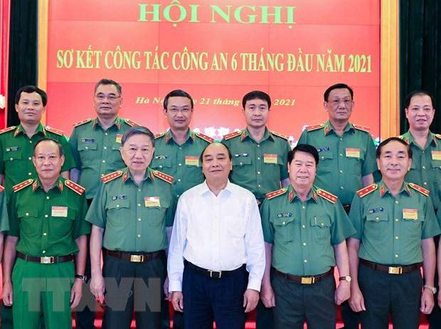 Chu tich nuoc: Nang cao chat luong dieu tra, kham pha toi pham hinh anh 2