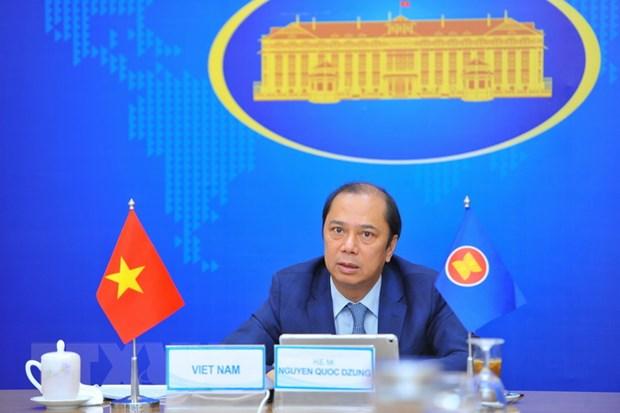 Viet Nam du Hoi nghi Quan chuc cao cap ASEAN va Hoi nghi SEANWFZ ExCom hinh anh 1
