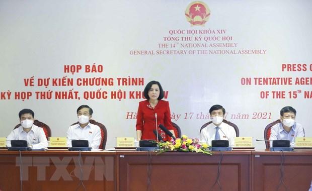 Ky hop thu nhat: Trong tam la cong tac to chuc, nhan su cap cao hinh anh 2