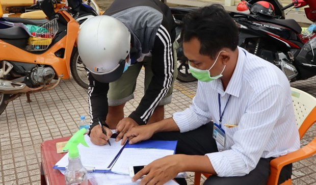 Binh Phuoc: Xu phat nhieu truong hop vi pham phong, chong dich hinh anh 1