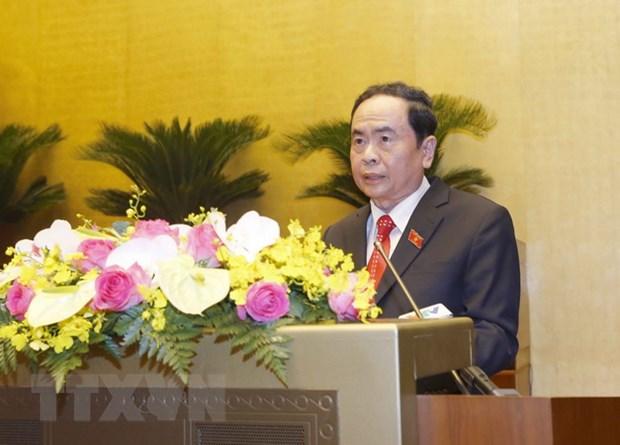 Ong Tran Thanh Man tiep tuc lam Pho Chu tich Thuong truc Quoc hoi hinh anh 1