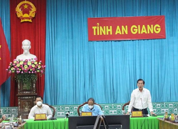 Tinh An Giang chuan bi kich ban cho 3.000 ca mac COVID-19 hinh anh 1