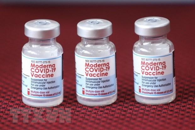 Kieu bao o Hoa Ky de nghi tang 50.000 lo vaccine Moderna cho TP.HCM hinh anh 1