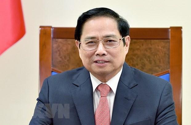 Thu tuong Pham Minh Chinh dien dam voi Thu tuong Sec Andrej Babis hinh anh 1