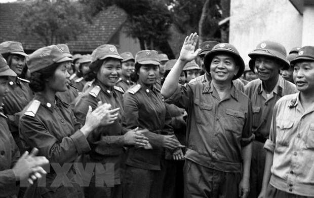 Dai tuong, Tong Tu lenh Vo Nguyen Giap - Vi tuong huyen thoai hinh anh 1