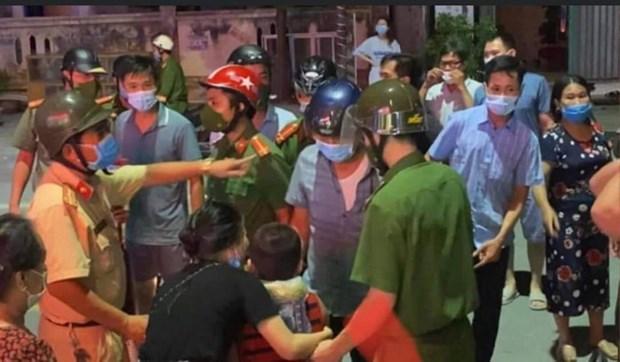 Thanh Hoa: Giai cuu be trai nghi bi cac doi tuong bat coc hinh anh 1