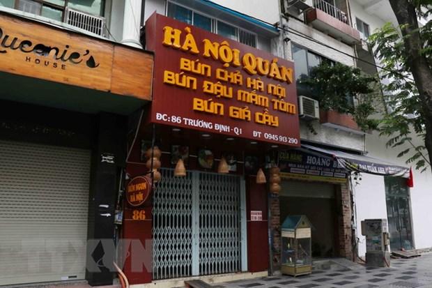 Nguoi kinh doanh tai TP Ho Chi Minh chua san sang mo lai cua hang hinh anh 1