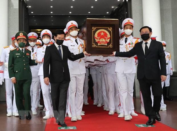 To chuc trong the Le tang Dai tuong Phung Quang Thanh hinh anh 1