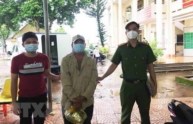 Binh Phuoc: Bat giu mot doi tuong tron truy na tu nam 2012 hinh anh 1
