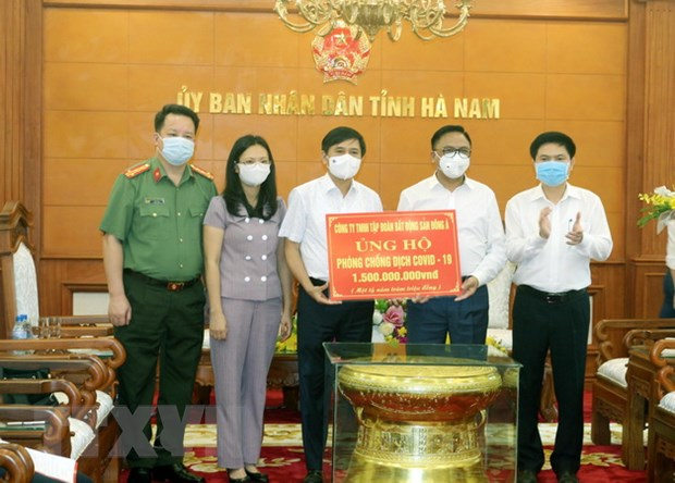 Quy vaccine phong COVID-19 tiep nhan duoc hon 8.692 ty dong hinh anh 1