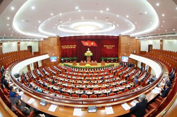 Toan van phat bieu be mac Hoi nghi lan 4 BCH Trung uong Dang khoa XIII hinh anh 3