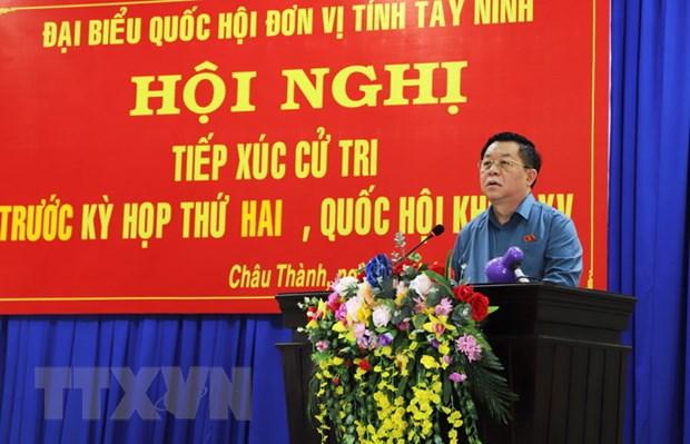 PTT Pham Binh Minh va Truong ban Tuyen giao tiep xuc cu tri hinh anh 3