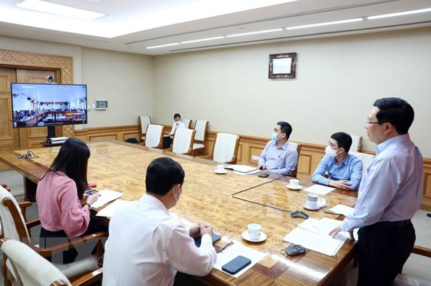PTT Pham Binh Minh va Truong ban Tuyen giao tiep xuc cu tri hinh anh 2