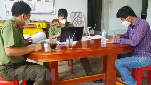 An Giang: Xu phat nhom doi tuong quay clip danh nguoi tung len mang hinh anh 1