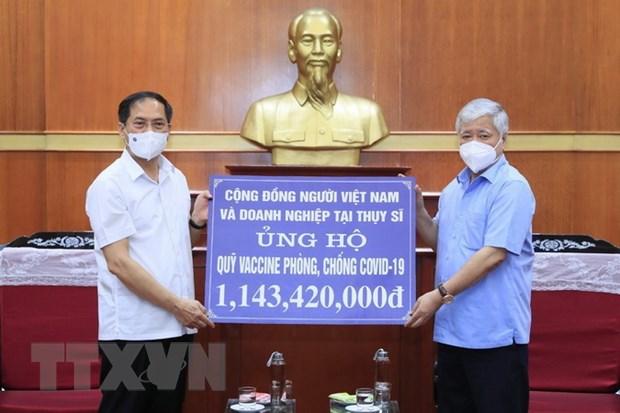 Quy vaccine phong COVID-19 da nhan duoc hon 8.784 ty dong hinh anh 1
